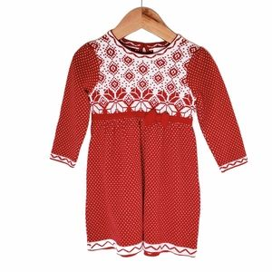 Hanna Andersson Sweater Dress Size 80/2